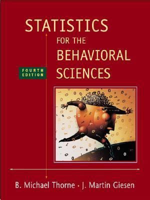Statistics For The Behavioral 10ed statistics for the behavioral sciences 4th edition rent