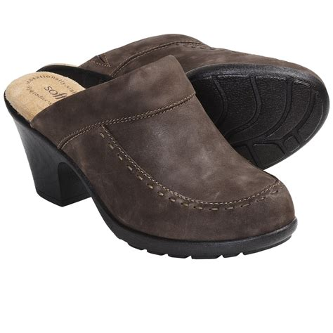 clogs for womens softspots collette leather clogs for 5907j save 66