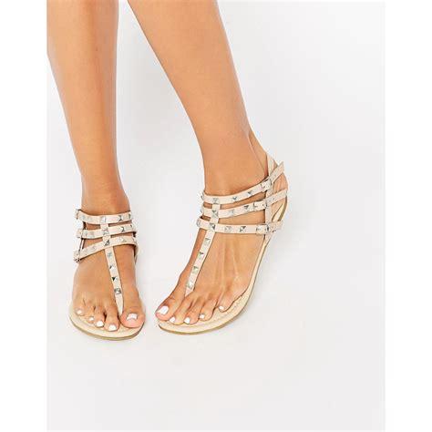 Asos Fabienne Studded Flat Sandals asos fabienne studded flat sandals nudevotion