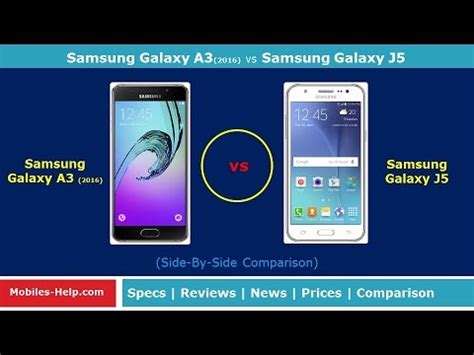 Samsung A3 Vs J5 samsung galaxy a3 2017 vs galaxy j5 2016 speed test doovi