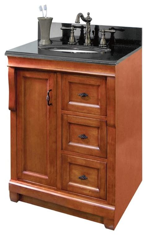 18 Vanity Cabinet foremost naca2418d naples 24 quot x 18 quot vanity cabinet only in warm cinnamon traditional