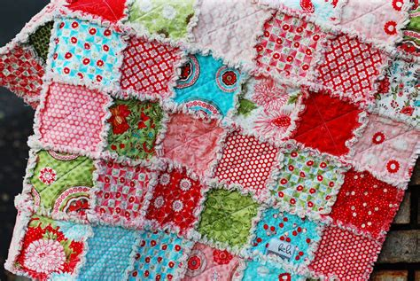 How To Make A Rag Quilt With Cotton Fabric by Write It Bliss Rag Quilt