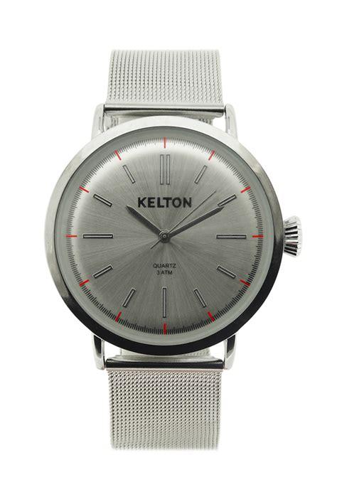 montre kelton metalic chrom 233 kelton