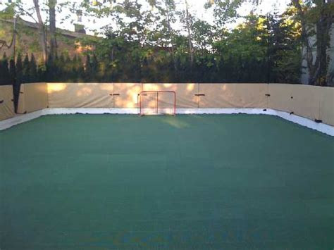 backyard roller hockey rink refrigerated backyard ice rinks