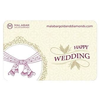 Amazon Wedding Gift Card - malabar gold and diamonds wedding gift card rs 2000 amazon in gift cards