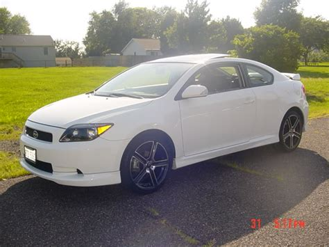 scion tc white scion tc white coupe 5spoke rides styling