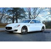Rennen Blue Label Concave Wheels On 2014 Maserati Quattroporte S