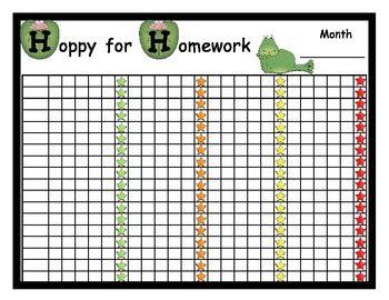 homework reward charts printable homework poster reward chart by once upon a creative