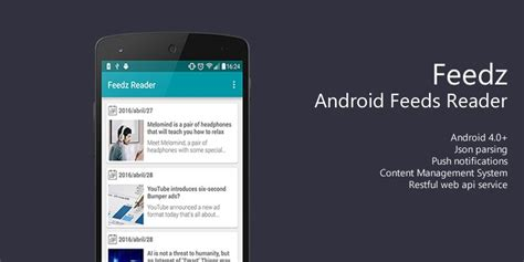 reader android feedz android feeds reader app source code news app templates for android codester