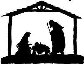 nativity silhouette template free printable nativity silhouette search results