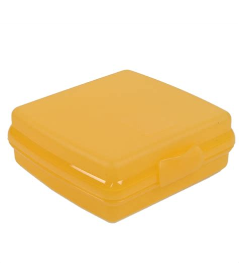 Quality Tupperware Keeper tupperware orange 250 ml sandwich box by tupperware