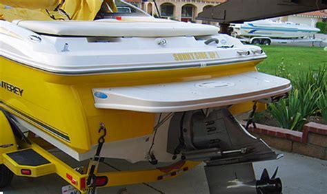 monterey boats swim platform swimplatforms