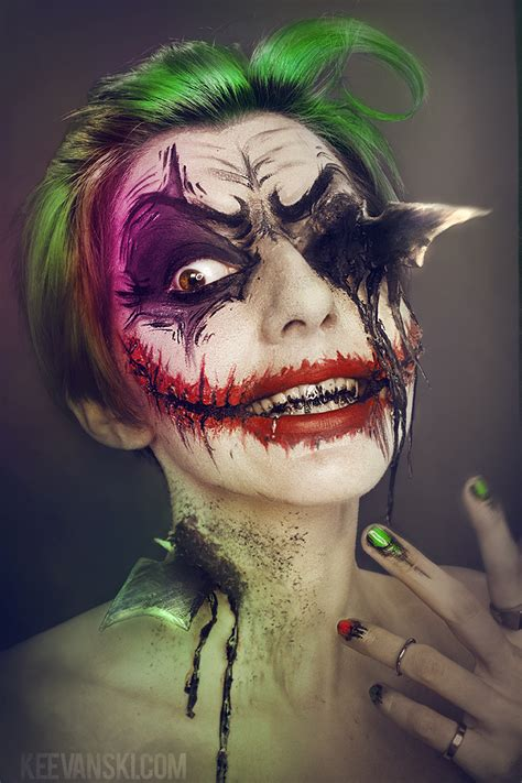 halloween makeup tutorials 2015 batman vs joker youtube joker makeup fx maquillaje inspirado dc