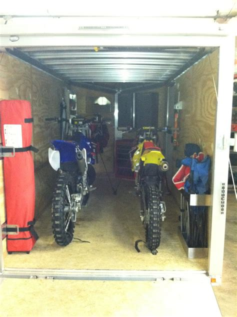 motocross bike setup 6x12 trailer setups moto related motocross forums