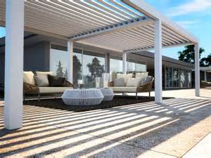 Pergola Adjustable Louvers by Freestanding Pergola With Adjustable Louvers Vision By