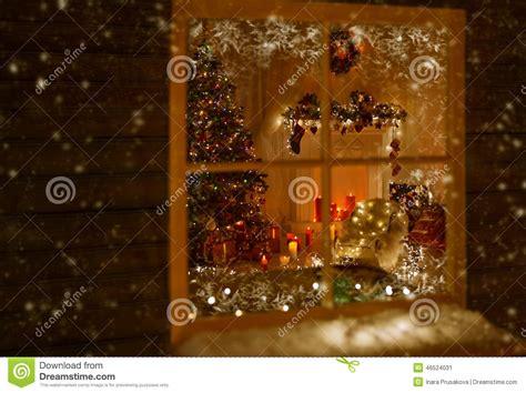 christmas window holiday home lights room decorated xmas