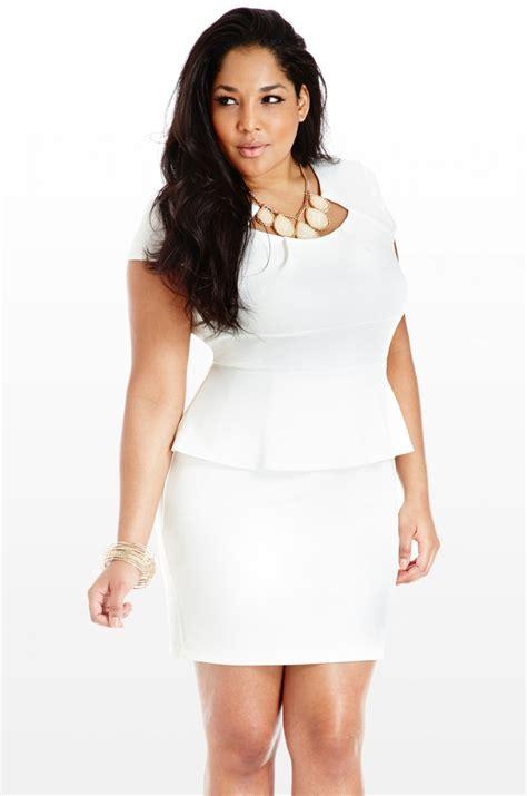 White Dress Size S white peplum dress dressed up