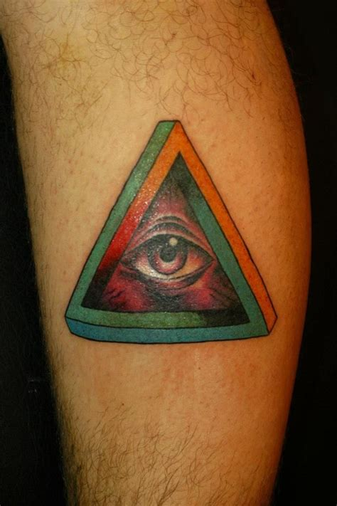 penrose triangle tattoo penrose triangle pictures to pin on