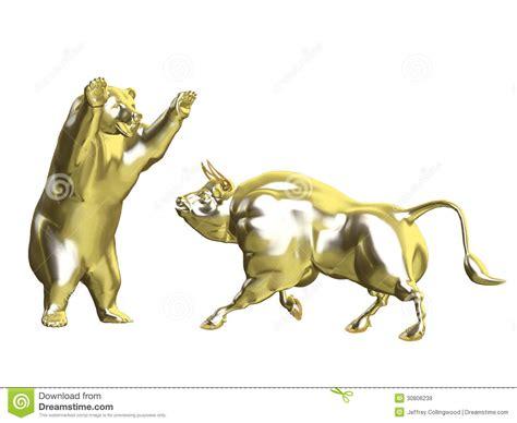 the complete bull vs bear roundup from the past week latest bulls vs bears gold market stock illustration image