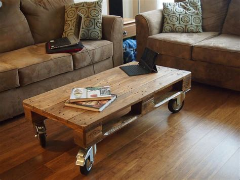 pallet table with wheels pallet coffee table with wheels coffee table design ideas