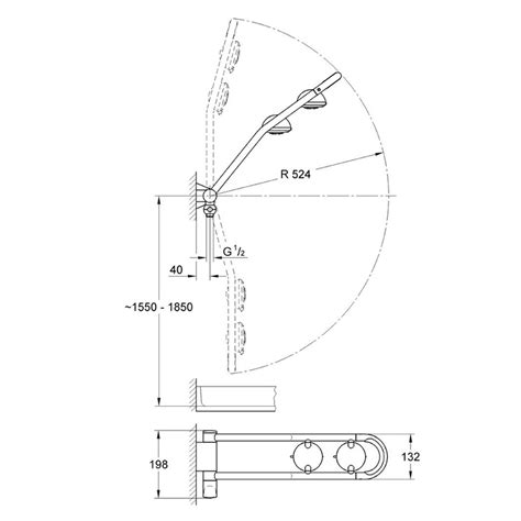 Grohe Freehander Shower by Grohe Freehander 27004 Exposed Feed Grohe 27004 000 National Shower Spares