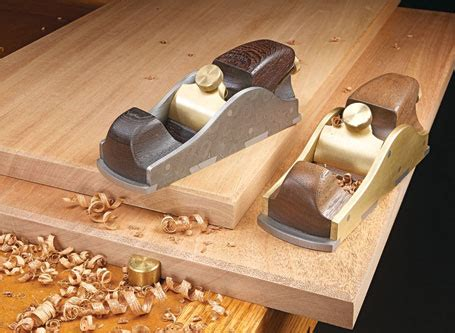 block plane vs bench plane infill block planes woodsmith plans