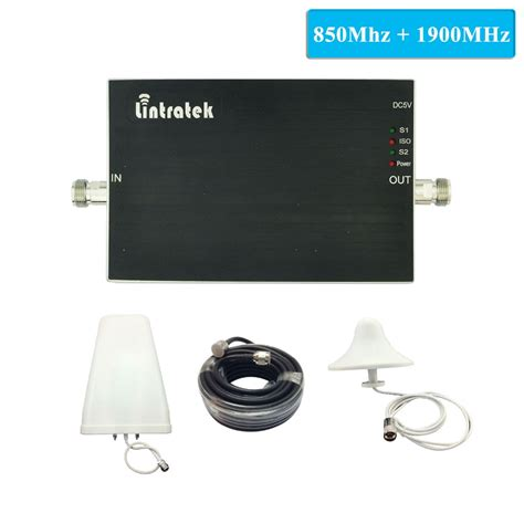 lintratek cell phone booster mhz mhz mobile signal booster gsm   dual band