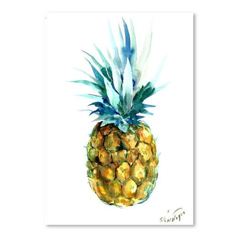 25 best ideas about pineapple painting on pineapple pineapple print and watercolor