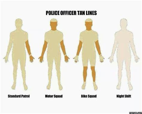 Tan Lines Meme - police officer tan lines memes com