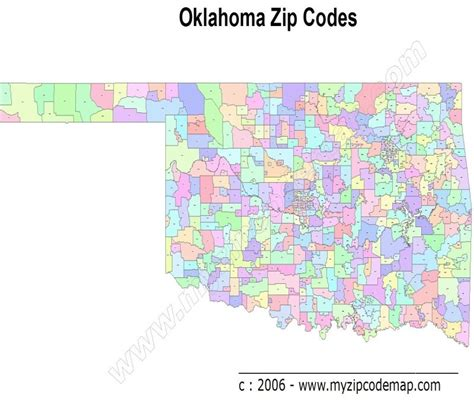 zip code map okc oklahoma zip code maps free oklahoma zip code maps