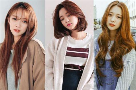 rekomendasi model rambut wanita pendek ala wanita korea