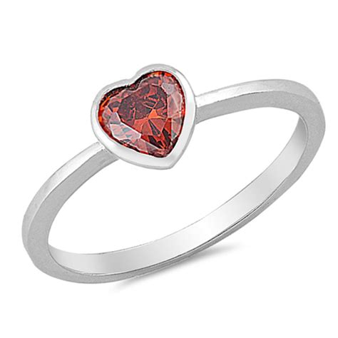 promise ring new 925 sterling silver solitaire