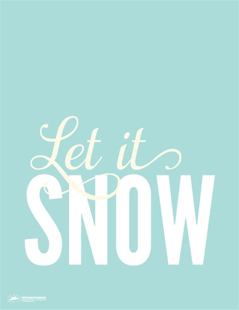 to let sign template let it snow free printable sign paging supermom