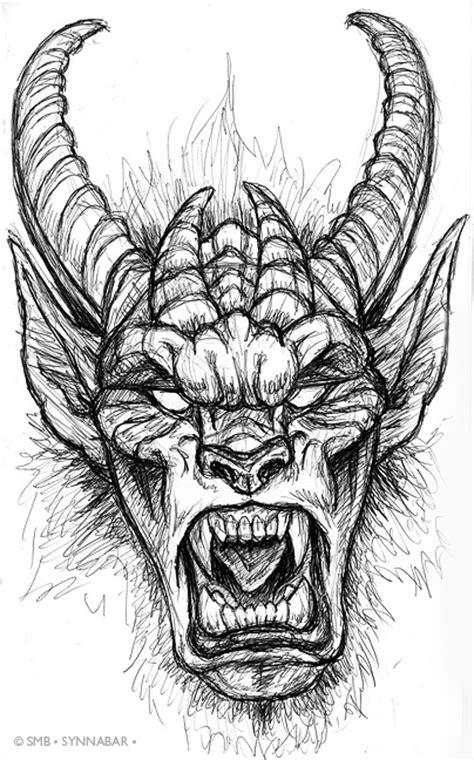 Pen Sketchbook Krampus Ii By Synnabar On Deviantart