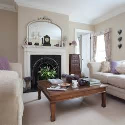 Neutral Living Room by Neutral Period Living Room Traditional Design Ideas
