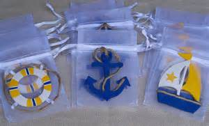 Nautical Theme Favors by Nautical Theme Baby Shower Favor Bags 10 By Favorsbygirlybows
