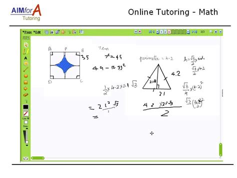 online tutorial math aim4a tutoring test prep