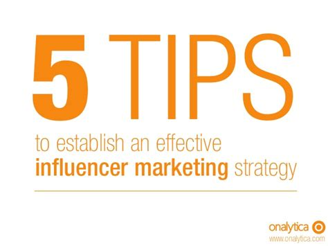 5 tips to an effective and scalable influencer marketing