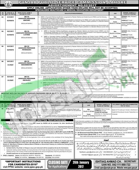test pattern of ppsc jobs in ppsc 2017 test pattern syllabus ppsc gop pk