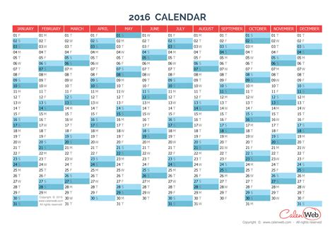 yearly calendar year yearly horizontal planning