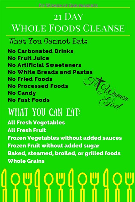 21 Day Detox Diet Food List by February S Challenge 21 Day Cleanse Fit Of God