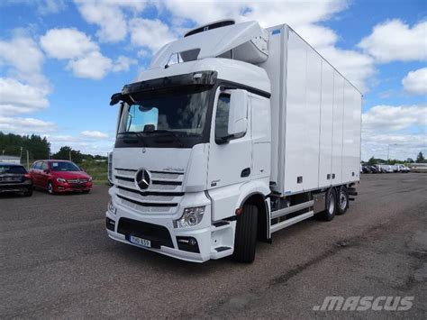 2019 Mercedes Truck Price by Used Mercedes Actros 2551l Frc Sk 229 P Box Trucks Year