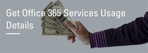 Get Office 365 by Get Office 365 Services Usage Details