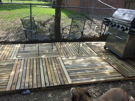 pallet deck pallet projects pinterest