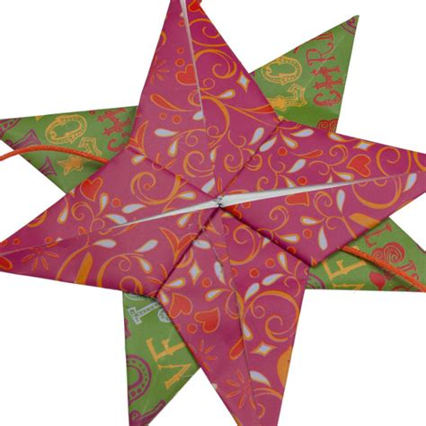 Origami Supplies Uk - green and pink origami garland 160cm decorations