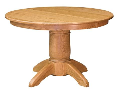 french country dining table dutchcrafters amish tables french tuscan single pedestal table from dutchcrafters