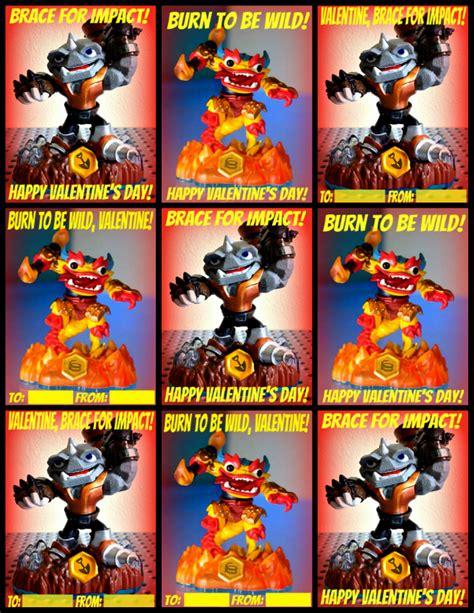 skylanders valentines printable skylanders valentines the