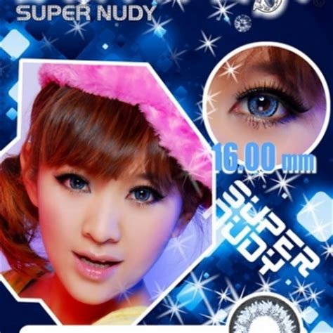 Mibuki Softlens Blue softlen eye nudy blue 16mm jual softlens murah geo softlen x2 softlen
