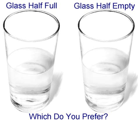 s glass half books glass half or glass half empty bruce mayhew