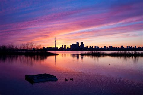top  places    epic sunset  toronto